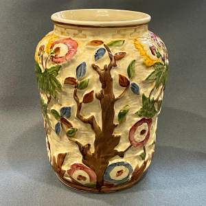 Mid 20th Century Arthur Woods Indian Tree Vase