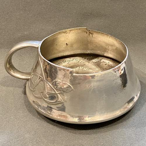Liberty and Co Archibald Knox Pewter Slop Bowl image-1
