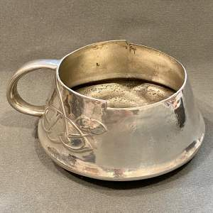 Liberty and Co Archibald Knox Pewter Slop Bowl