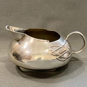 Liberty and Co Archibald Knox Tudric Pewter Cream Jug