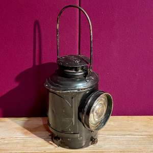 Adlake Railway Lamp with Original Burner