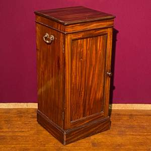 Early Victorian Mahogany Dining Room Cupboard