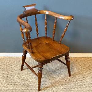 19th Century Elm Childs Chair