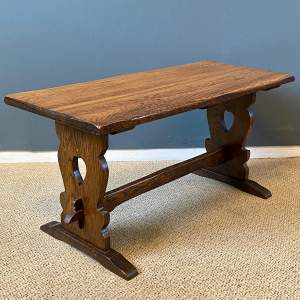 1930s Oak Coffee Table