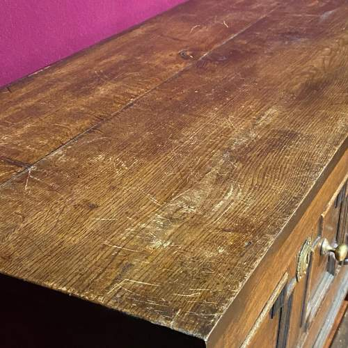 Early 20th Century Oak Two Drawer Dresser image-5