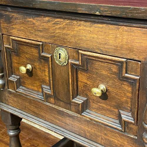 Early 20th Century Oak Two Drawer Dresser image-3