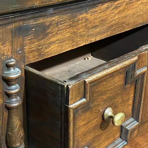 Early 20th Century Oak Two Drawer Dresser image-4