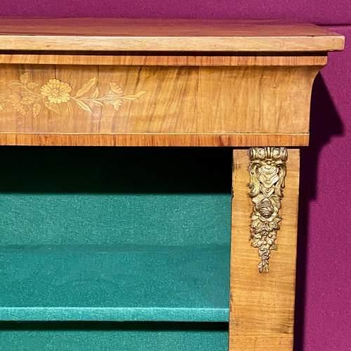 19th Century Walnut Pier Bookcase image-4