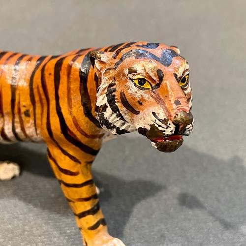 Franz Bergman Cold Painted Bronze Tiger image-2