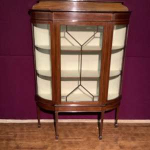 Waring and Gillows Edwardian Display Cabinet