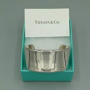 Tiffany and Co Silver Cuff Bangle