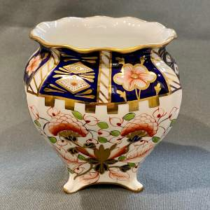 Early 20th Century Royal Crown Derby Footed Vase