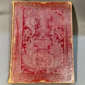 19th Century Victorian Scrap Book