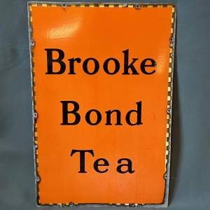 Original Brooke Bond Tea Enamel Sign