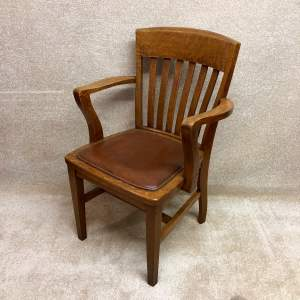 1930s Oak Office Chair