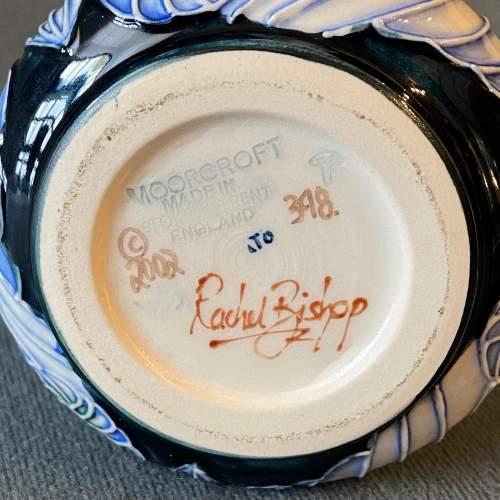 Moorcroft Rachel Bishop Sea Drift Vase image-4