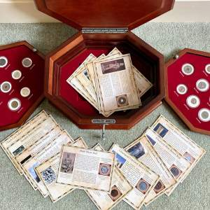 20th Century Coin Collection In Deluxe Box