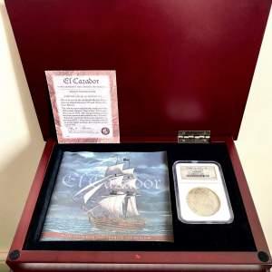 El Cazador Shipwreck Set - 8 Reales