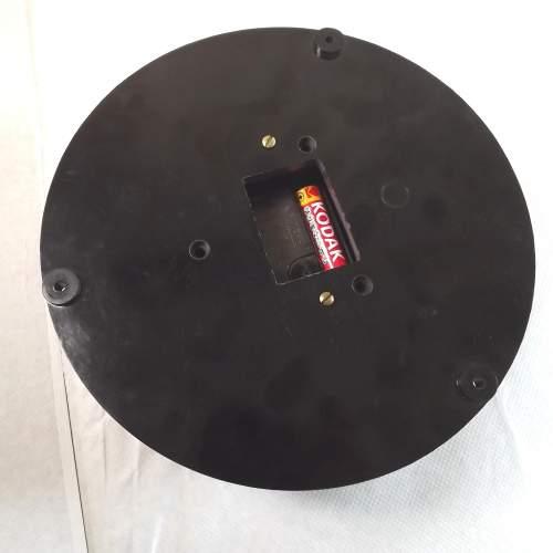 Large Vintage Bakelite Pressure Gauge Wall Clock Conversion image-6