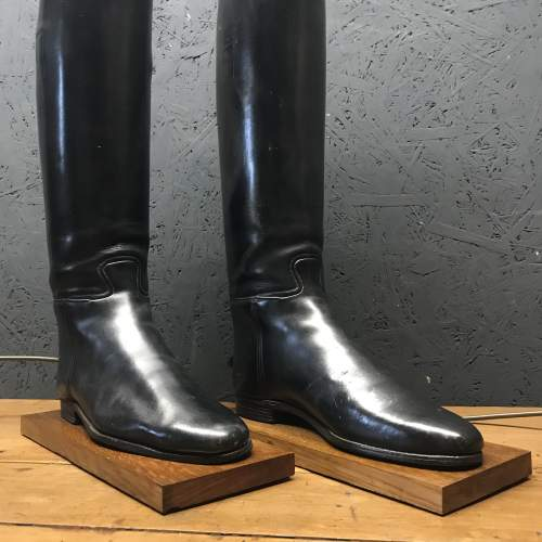 Pair of Vintage Peal and Co Riding Boots Repurposed into Lamps image-4