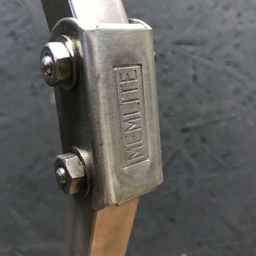 Unique Floor Standing Double Memlite Machinists Lamp - Restored image-5