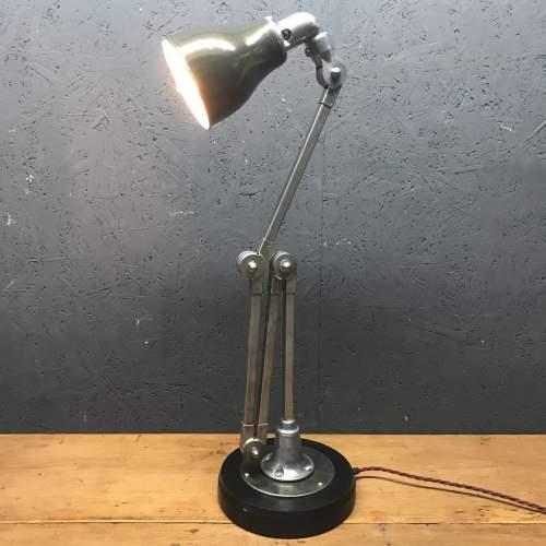 Vintage Invisaflex Industrial Machinist Lamp - Rare 4 Arm Model image-2