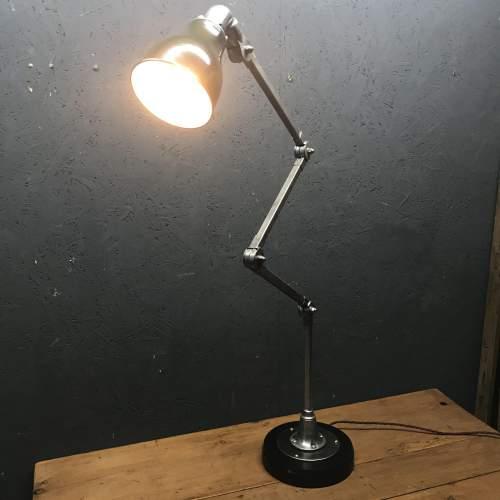Vintage Invisaflex Industrial Machinist Lamp - Rare 4 Arm Model image-3