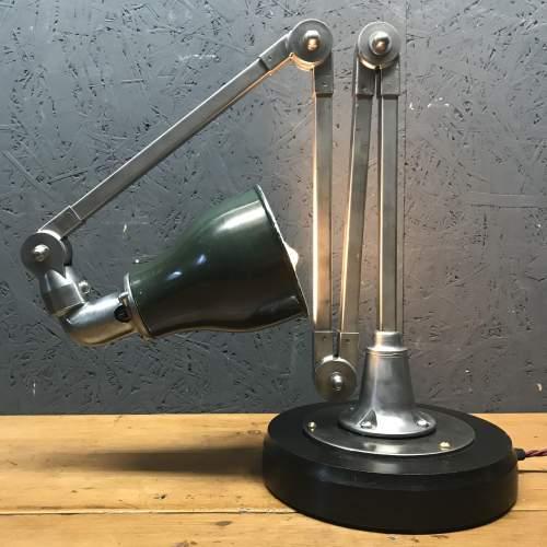 Vintage Invisaflex Industrial Machinist Lamp - Rare 4 Arm Model image-6