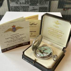 Limited Edition Supermarine Spitfire Mark V Pocket Watch