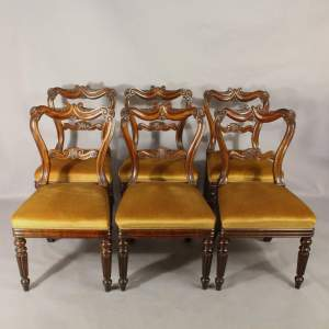 Good Quality Set of Six Early 19th Century Dining Chairs by Gillows