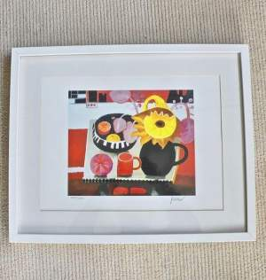The Orange Mug by Mary Fedden Signed Limited Edition Lithograph