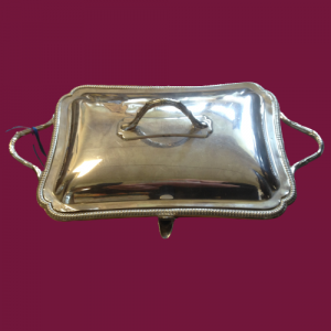 Elkington Silver Plated Lidded Dish