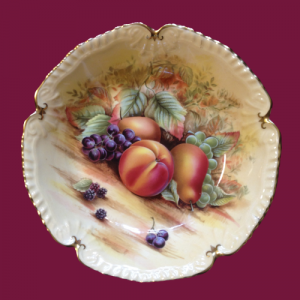 Aynsley Orchard Gold Dish