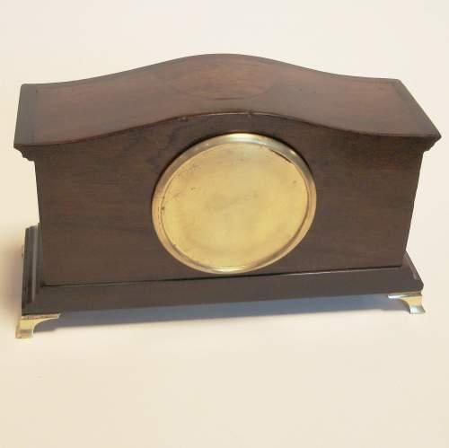Edwardian Mahogany Cased Mantel Clock image-4