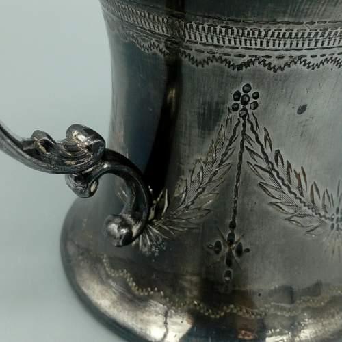 19th Century Pewter Shaving Jug image-5