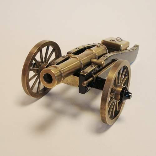 Miniature Bronze Cannon image-1
