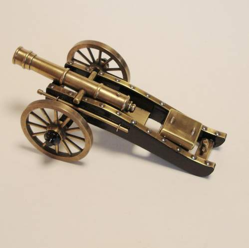 Miniature Bronze Cannon image-2