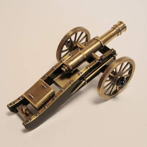 Miniature Bronze Cannon image-4