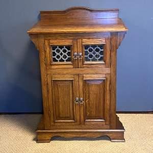 Arts and Crafts Oak Cabinet