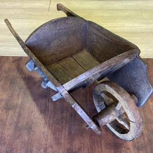Antique Country Wheelbarrow