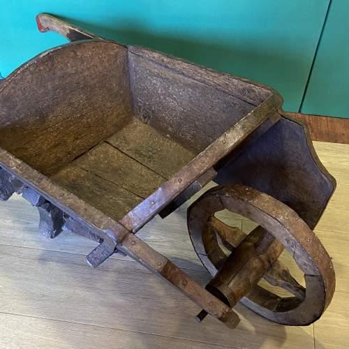 Antique Country Wheelbarrow image-2