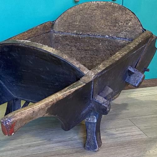 Antique Country Wheelbarrow image-4