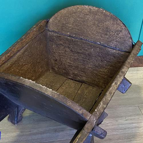 Antique Country Wheelbarrow image-3