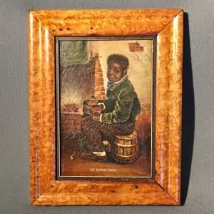 Unusual 19th Century Small T Osborne Oil on Canvas