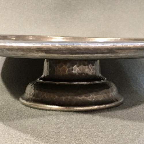 Arts and Crafts Liberty and Co Tudric Pewter Footed Tazza image-4