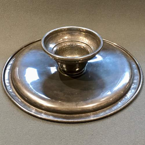 Arts and Crafts Liberty and Co Tudric Pewter Footed Tazza image-5