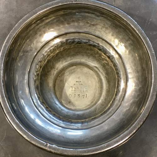 Arts and Crafts Liberty and Co Tudric Pewter Footed Tazza image-6