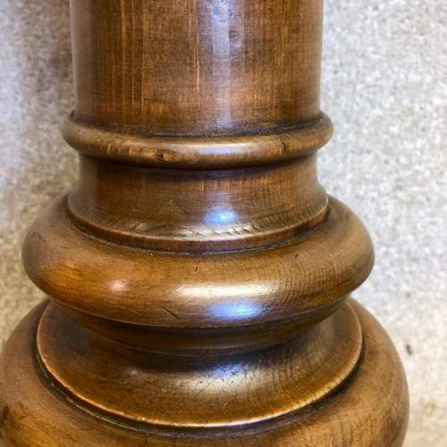 19th Century Wooden Font by Wylie and Lockhead image-4