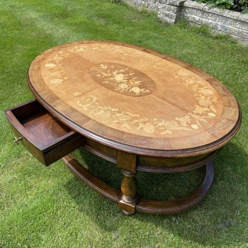 Large Oval Coffee Table image-3