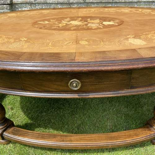Large Oval Coffee Table image-4